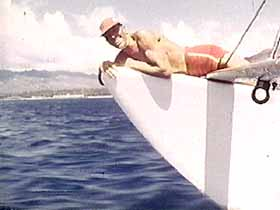 SFL, 29:58, Woody Brown Rides One of His Catamarans
