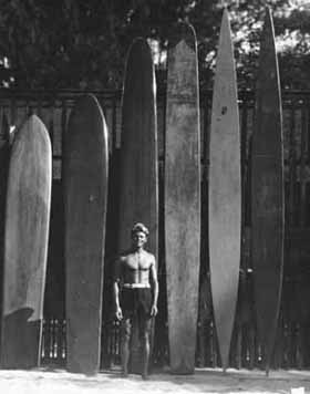 B19, Tom Blake, Important Surfing Pioneer and Creator of the Surfboard Fin.